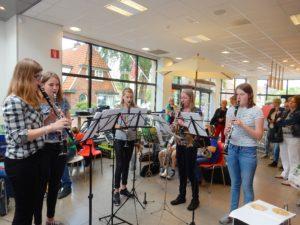 """optreden in de Hema 18 juni 2016 """"Muziek in de winkel"""""""
